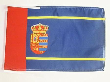 AZ FLAG Bandera de MOSTOLES 45x30cm - BANDERINA DE LA Ciudad DE MOSTOLES - ESPAÑA 30 x 45 cm cordeles: Amazon.es: Hogar