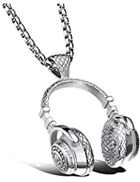Silver plated titanium necklace headset hot style match...