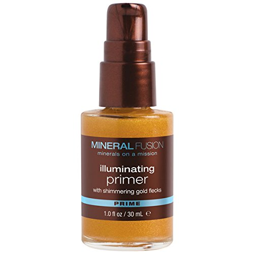 MINERAL FUSION Illuminating primer with shimmering gold flecks by mineral fusion, 1 oz, 1 Ounce ()