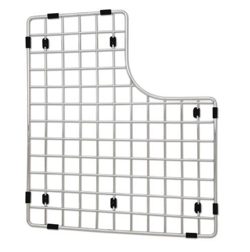 - Blanco 222429 Sink Grid, Fits Performa Silgranit II Double Bowl left bowl, Stainless Steel