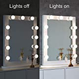Toyswill Hollywood Vanity Mirror,Lighted Makeup