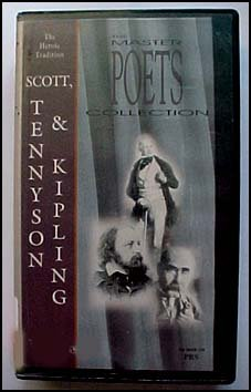 The Master Poets Collection the Heroic Tradition Scott, Tennyson & Kipling
