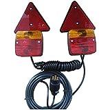 JBM®–51886magnético trasera Kit de iluminación para Cable en espiral, 2,5m, 7m