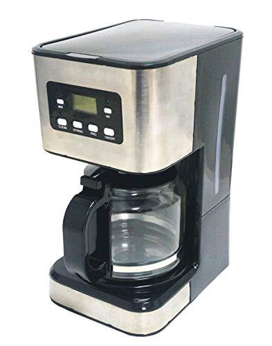 Family Care Cafetera de Goteo, Cafetera Eléctrica, Jarra 1.5 Litros para 12 Tazas, Acero Inoxidable y Plástico, Color…