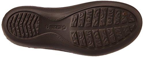 crocs Jayna - Zapatos con talón descubierto para mujer Marrone (Espresso)