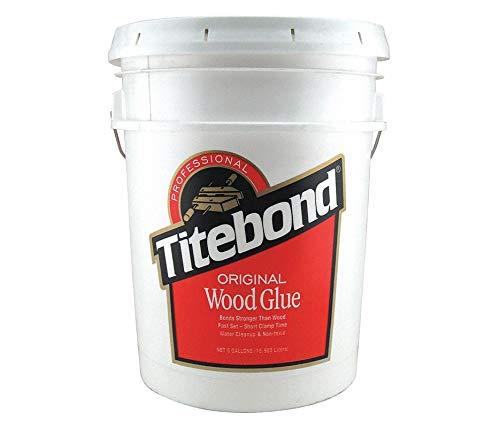 Wood Glue, 640.00 oz. Pail, Yellow, 1 EA