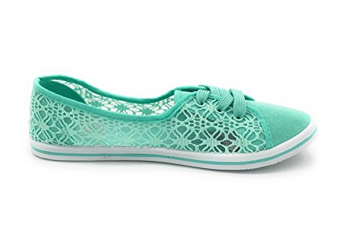 Shoes Mint13 EASY21 Canvas Falts Lace Ballet up Women YU0aP