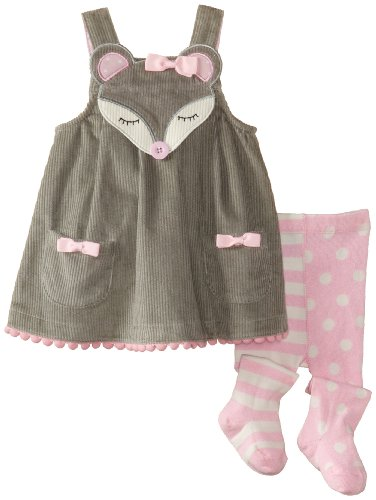 Mud Pie Baby Girls Mouse Jumper and Tights