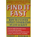 Find It Fast, Robert I. Berkman, 0060961538