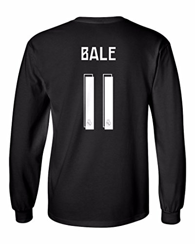 Tcamp Real Madrid Shirt Gareth Bale  11 Jersey Men s Long Sleeve T-shirt -  Buy Online in KSA. Apparel products in Saudi Arabia. See Prices 56a8923d5
