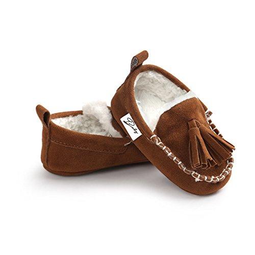 Leap Frog  Classic Sneaker,  Baby Mädchen Klassische Sneaker Braun