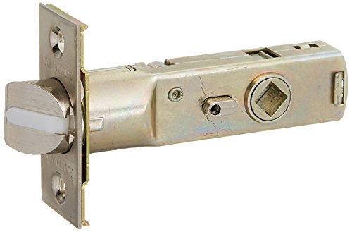 Nickel Estate Replacement Latch - Baldwin 5513.P Privacy Door Lever Latch for 2-3/8