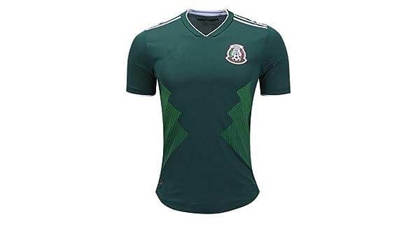 GDSQ Camiseta Colombiana 2018 Copa del Mundo Uniforme De Fútbol del Equipo  Nacional De México México M  Amazon.es  Deportes y aire libre 8a0b0fba76a9c