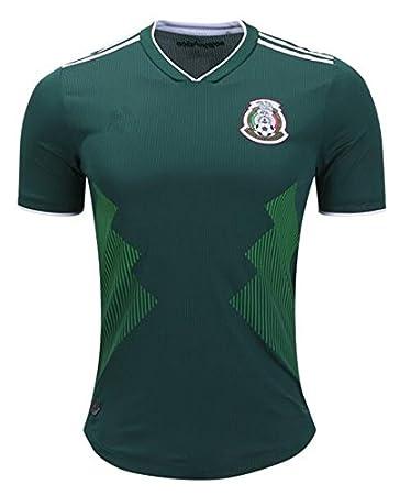 GDSQ Camiseta Colombiana 2018 Copa del Mundo Uniforme del Equipo Nacional De Fútbol del Equipo Nacional De México: Amazon.es: Deportes y aire libre