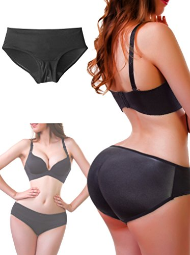 Padded Seamless Enhancer Panties Underwear