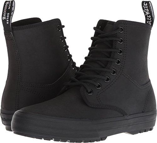 - Dr. Martens Unisex-Adult Winsted 8 Eye Boot, Size: 6 D(M) US / 5 F(M) UK / 7 B(M) US, Color: Black Greasy Lamper Vulc+Mohawk Syn