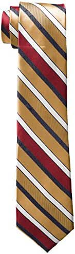 Rooster Men's Big-Tall Stripe Extra Long Necktie