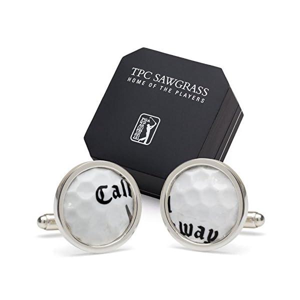 Tokens-Icons-TPC-Sawgrass-Golf-Ball-Cuff-Links