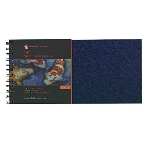 Global Art Materials Field Watercolor Artist Journal Hand...
