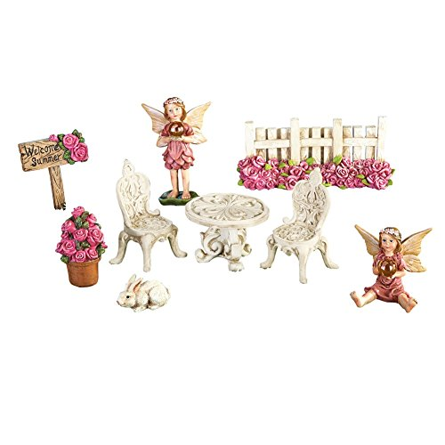 Mini Fairy Garden Accent Pieces - 9pc