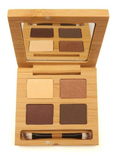 Antonym Cosmetics Ecocert Certified Eyeshadow Quattro, Noisette, Brown