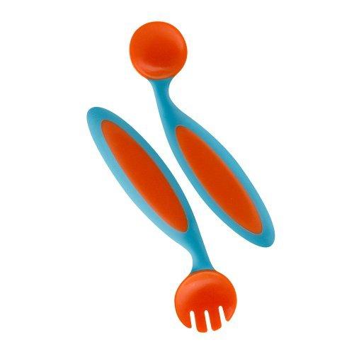 Boon Benders Adaptable Utensils Orange
