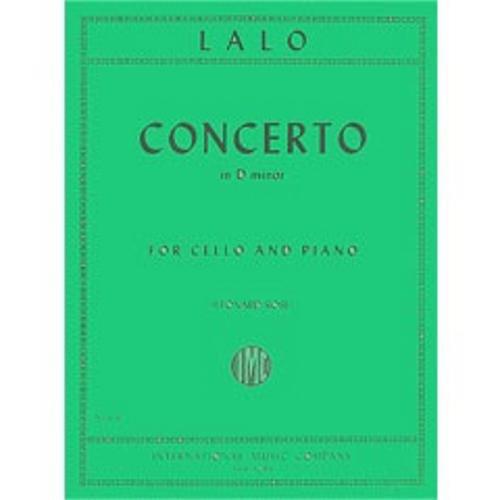 International Music Co. Lalo Concerto in D Minor for Cello and Piano