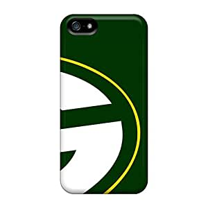 Flexible Tpu Back Case Cover For Iphone 5/5s - Green Bay Packers