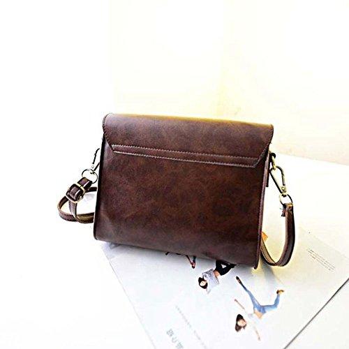 Tote Shoulder Fulltime Hobo Brown Handbag Bag TM Leather Messenger Womens Satchel 0wTqa1pw