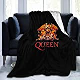 Robert M Smith Freddie Mercury Super Soft Luxury Comfortable Warm Fluffy Plush Blanket for Bed Sofa Chair Autumn and Winter Spring Living Room (50' X 40') (60' X 50')