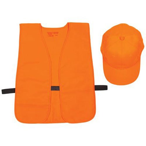 Allen Company Orange Hunter's Vest and Hat Combo ()
