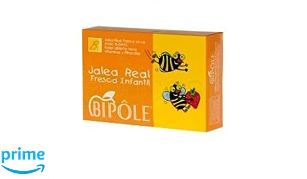 Bipole Jalea Real Fresca Infantil 20 ampollas de Intersa: Amazon ...