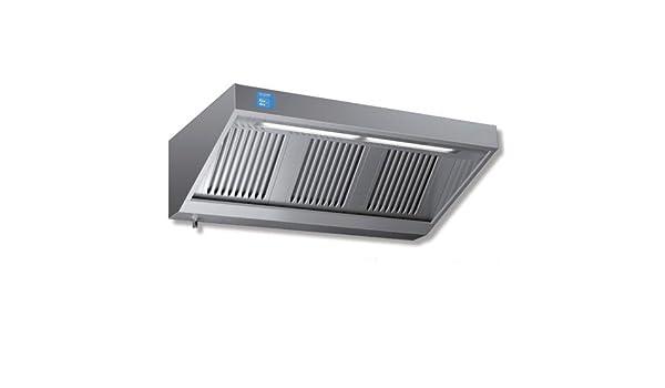 Campana extractora 100 x 70 x 45 acero inoxidable snack Motor Regulador Cocina Restaurante Luces Variador rs7237: Amazon.es: Hogar