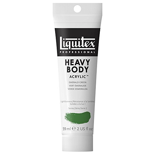 Liquitex Professional Heavy Body Acrylic Paint 2-oz tube, Emerald Green