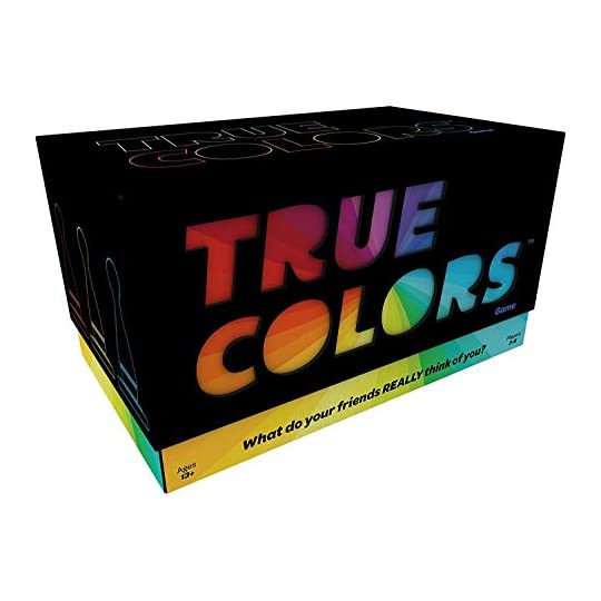 Games Adults Play – True Colors Card Game – What Do Your Friends Really Think of You?