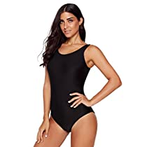 FLY HAWK Womens Vintage One Piece Bathing Suits Tankinis Swimwear Monokinis Swimsuit Beach Swimdress