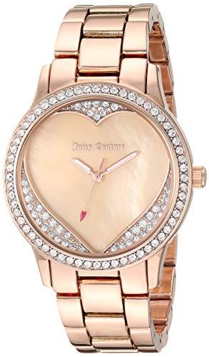 - Juicy Couture Black Label Women's JC/1100BMRG Swarovski Crystal Accented Rose Gold-Tone Bracelet Watch