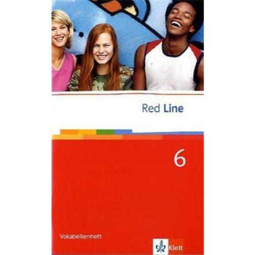 Red Line 6: Vokabellernheft Klasse 10 (Red Line. Ausgabe ab 2006)