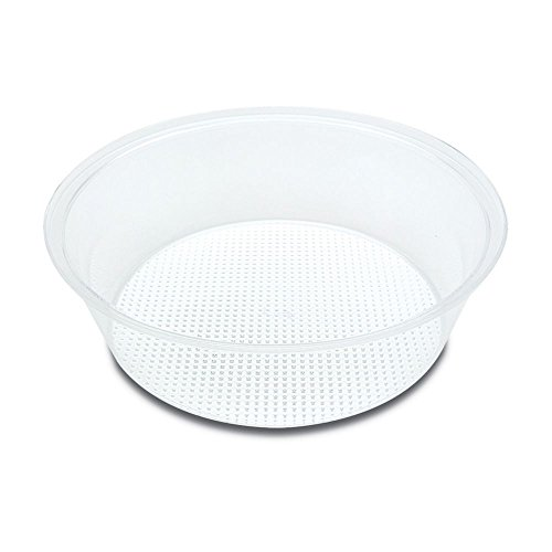 Delfin Acrylic - Delfin 13x4 in. Clear Round Acrylic Bowl (For Ice)