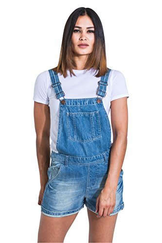 Overall Denim Bib Petos Shorts Blue Uskees Cortos Aged Xenyaaged wzqPUYv