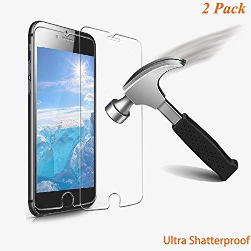 Tripsky iPhone 8 Plus 7 Plus Ultra Shatterproof Screen Prote