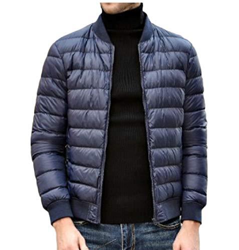 Gocgt Ultra All'aperto Inverno Blu Cappotto Giù Uomini Leggero Piumini Packable Navy gPrxgp5