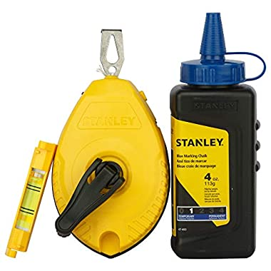 STANLEY STHT47443-8 White/Blue Chalk and Line 8