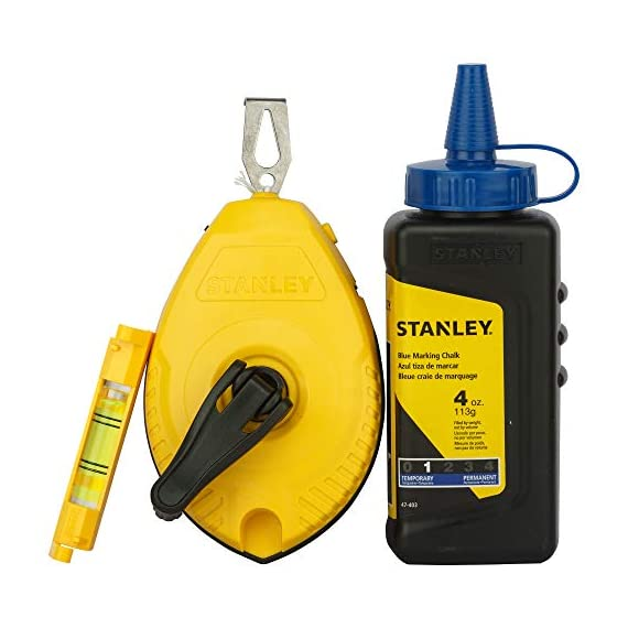 STANLEY STHT47443-8 White/Blue Chalk and Line 1