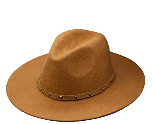 Wool Stripe Fedora Hat - 2