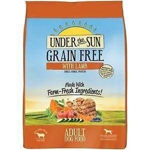 Canidae 30410092 3.5 oz Grain Free Under The Sun Lamb CRT for - Canidae Grain