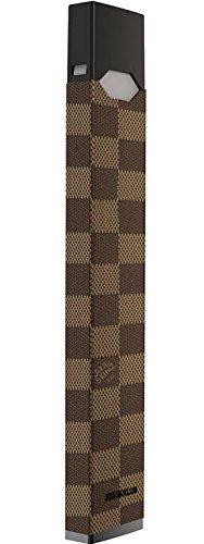JUUL Decal | JUUL Skin | JUUL Sticker | JUUL Wrap for The JUUL Vape/Brown Checkers