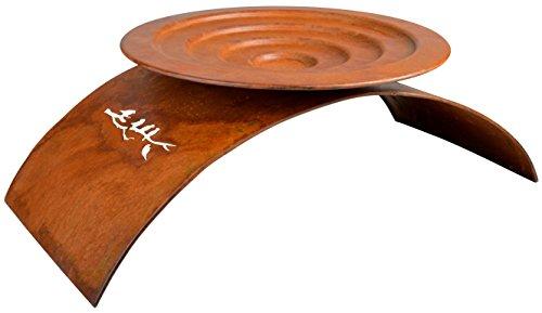 Esschert Design Round Bird Bath Rust, Large