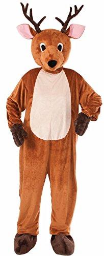 Reindeer Plush Mascot Adult