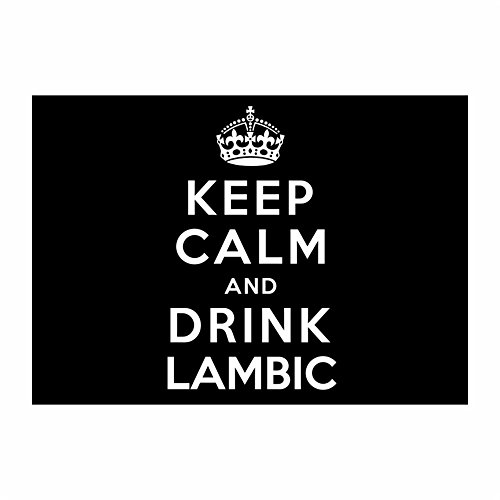 teeburon-keep-calm-and-drink-lambic-pack-of-4-stickers
